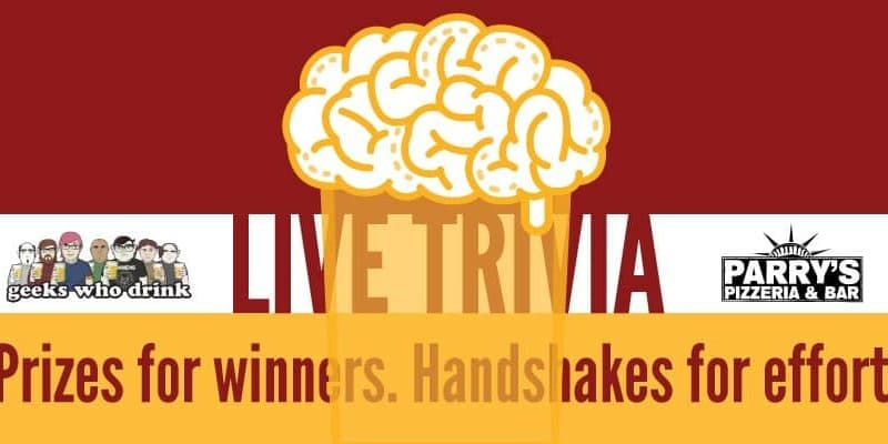 Live Trivia with Geeks Who Drink