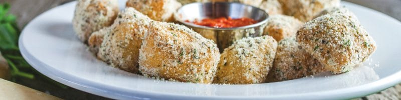 Polo Grounds Parm Bites