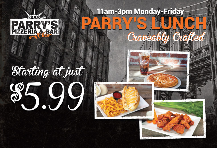 Parry's Pizzeria & Bar - New York-Style Pizza & Craft Beer